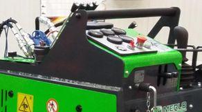 Merlo Geräteträger mit Raupenfahrwerk